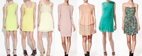 coleccion de vestidos informales zara