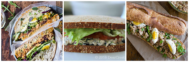 Tuna Sandwich Recipes: 17 Ideas for Using Canned Tuna Round-Up