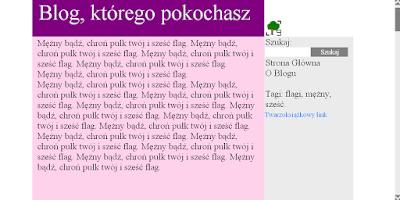 ładny blog