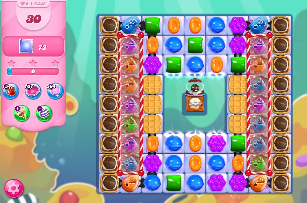 Candy Crush Saga level 6346