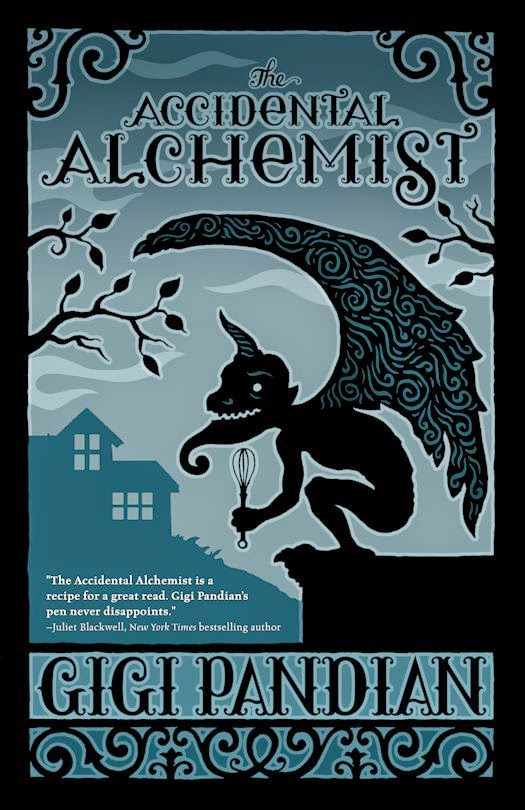 Review:  The Accidental Alchemist by Gigi Pandian