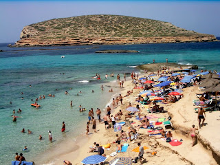 Ibiza Wonderful Beach in Vacation