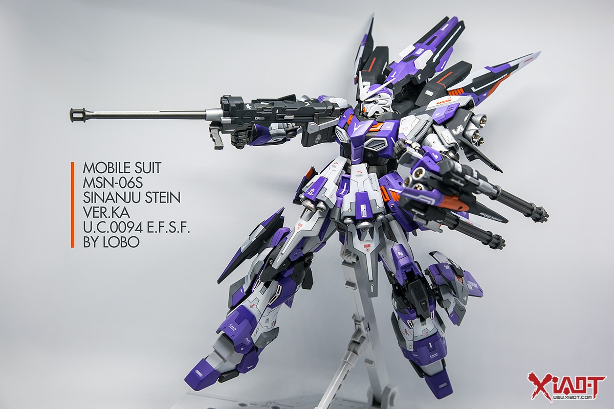 GUNDAM GUY: MG 1/100 Sinanju Stein Ver Ka - Customized Build