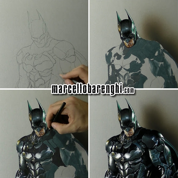 04-Batman-wip-Marcello-Barenghi-Exploring-Tiny-Details-of-Hyper-Realistic-Drawings-www-designstack-co