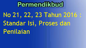 Link Download Permendikbud No 21, 22, 23 Tahun 2016 img