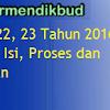 Download Permendikbud No 21, 22, 23 Tahun 2016