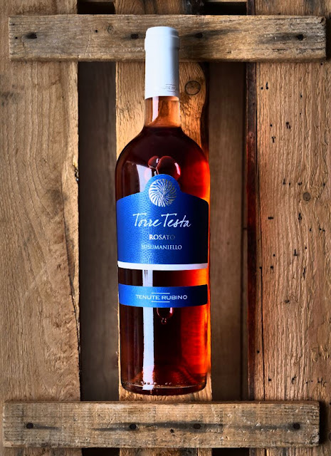 Der Torre Testa Rose der Tenute Rubino.