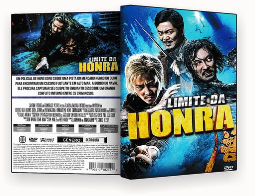 CAPA DVD – LIMITE DA HONRA 2018 DVD-R