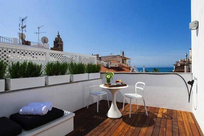 Decoraci n de terrazas decoraci n del hogar dise o de - Diseno terrazas exteriores viviendas ...