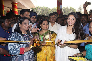 Tamil Actress Singer Andrea Stills in White Salwar Kameez at Narayana Group of Schools Carnival Inauguration  0007.jpg