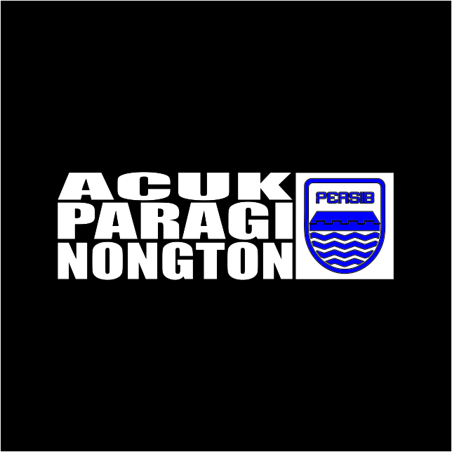 Acuk Paragi Nongton Persib Free Download Vector CDR, AI, EPS and PNG Formats