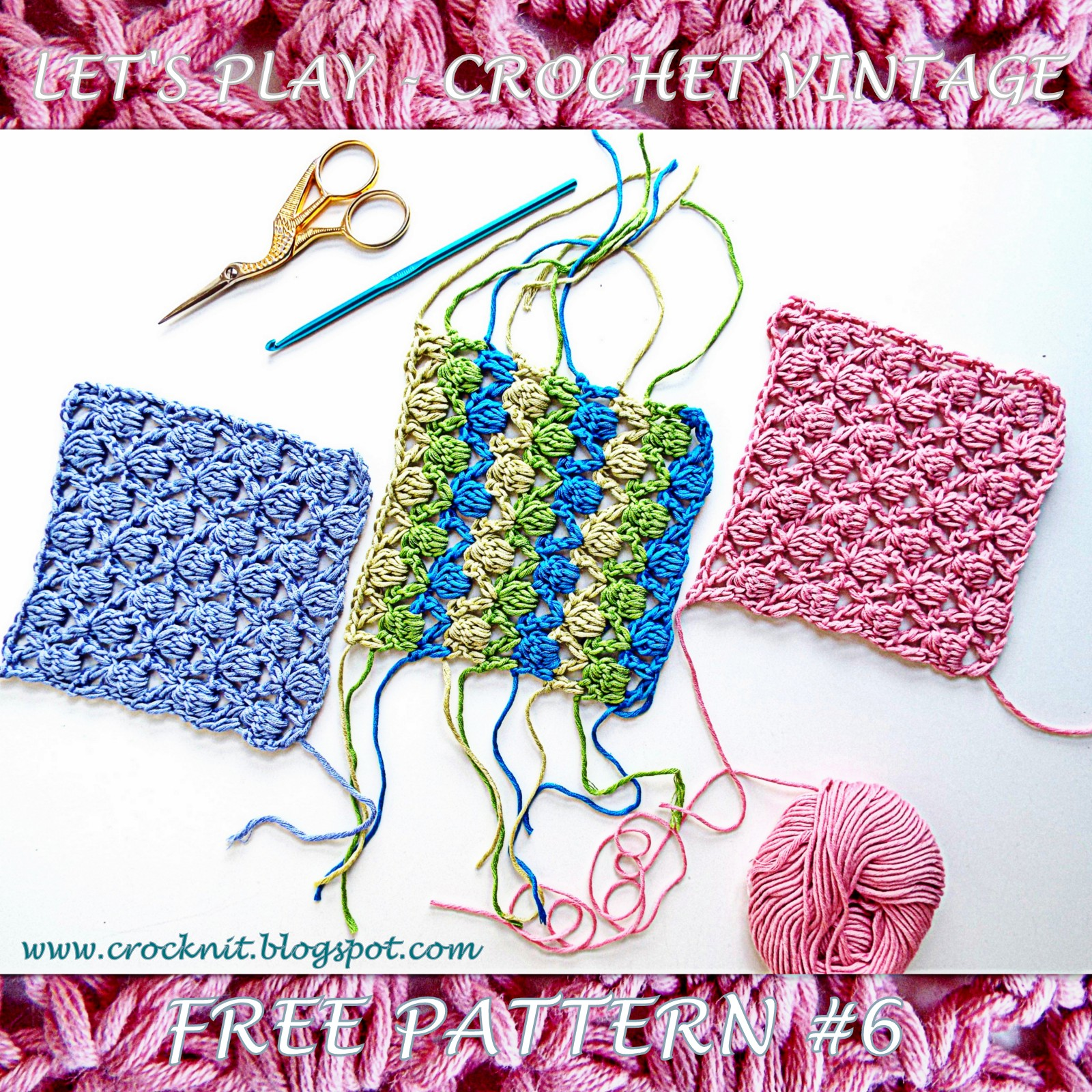 Microcknit Creations Let S Play Crochet Vintage Free