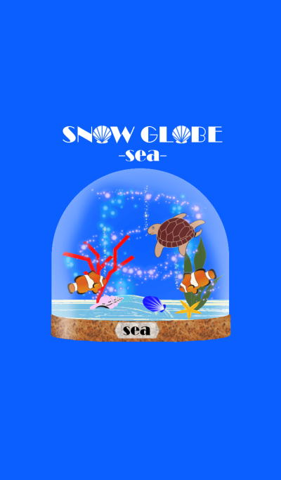 Snow Globe -sea-
