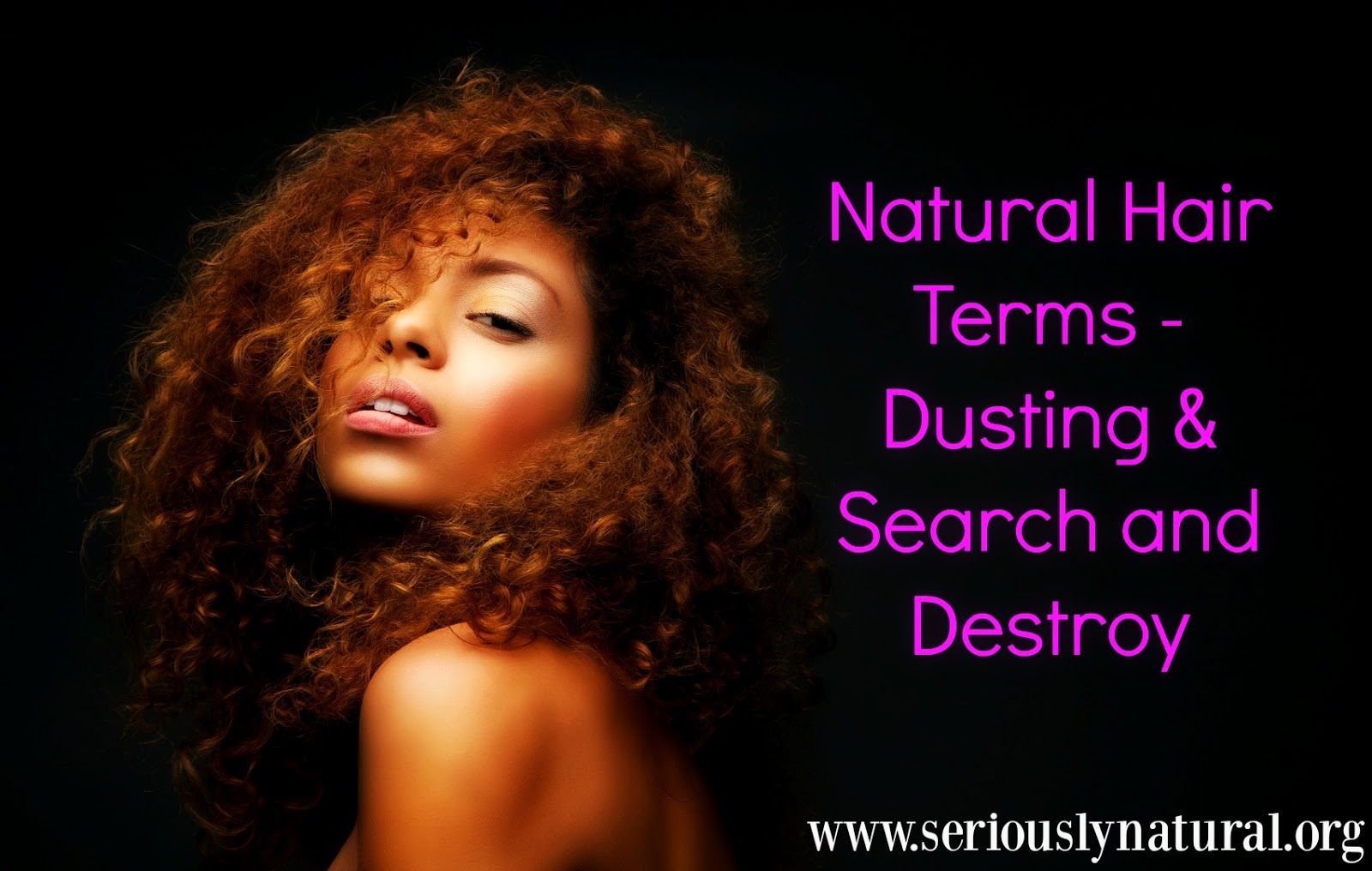 Natural Hair Terms - Dusting & Search and Destroy