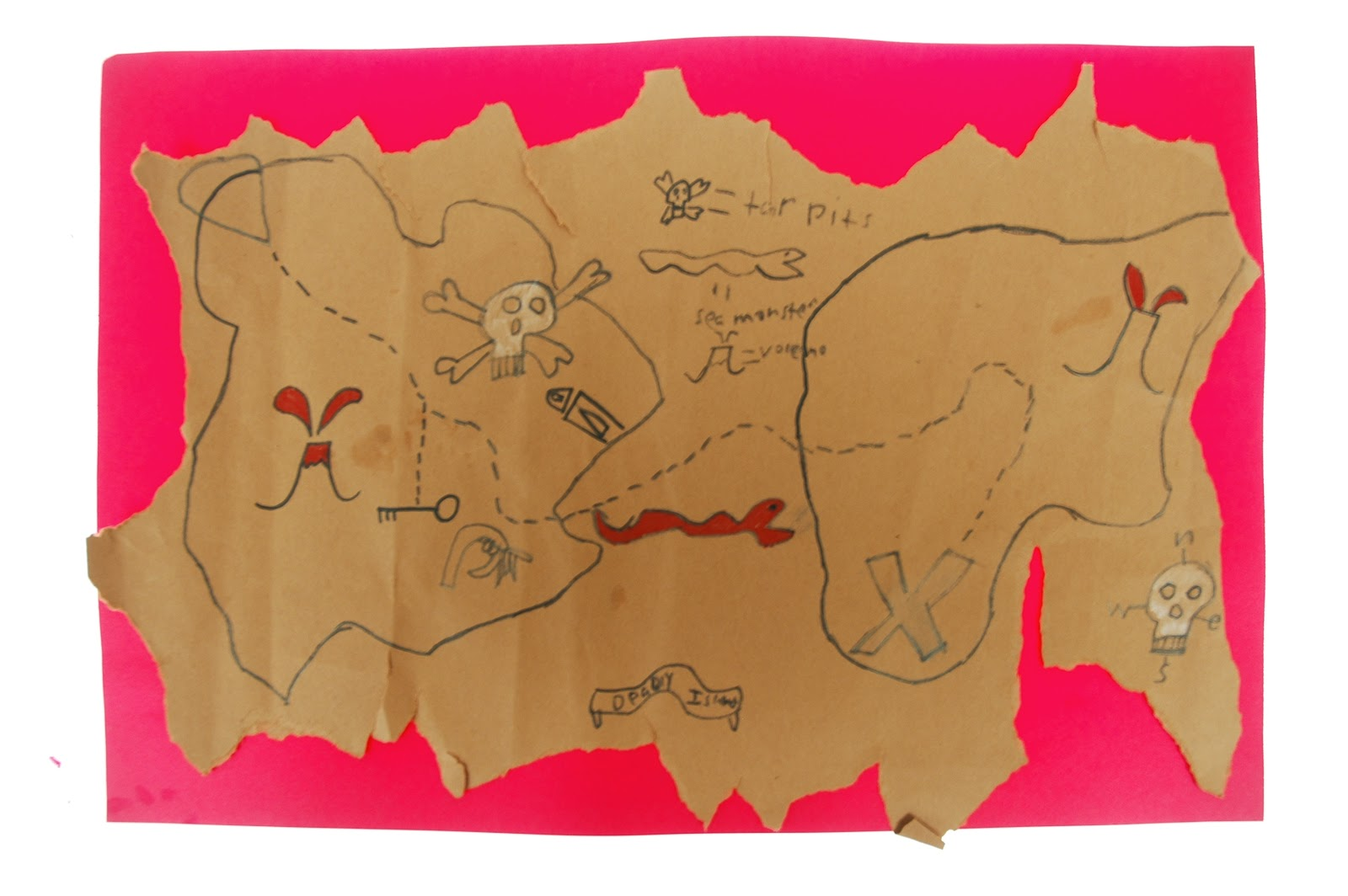 Make Stuff 2nd Grade Treasure Maps