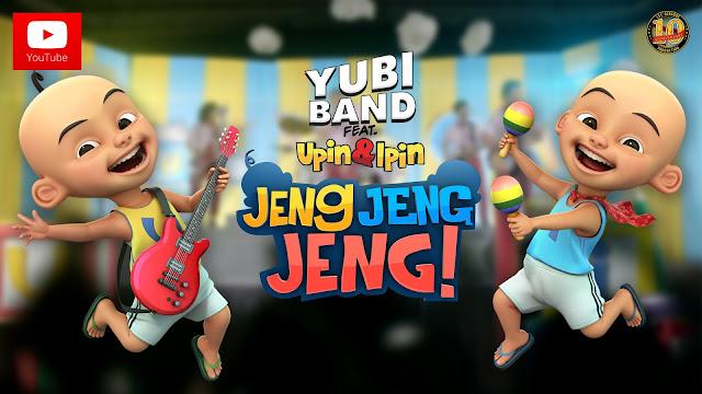 Layan Lirik Lagu Upin & Ipin Jeng, Jeng, Jeng - Yubi Band (OST Upin Ipin Jeng, Jeng, Jeng)