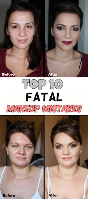Top 10 fatal makeup mistakes