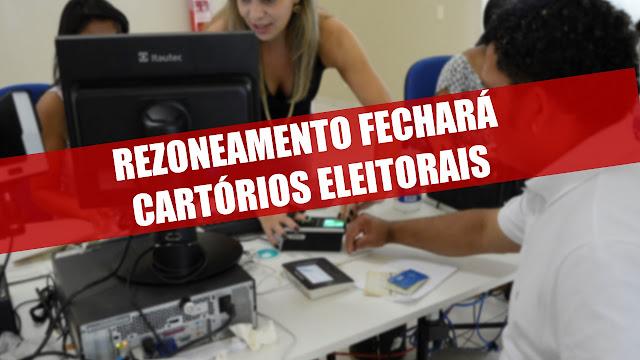 REZONEAMENTO FECHARÁ CARTÓRIOS ELEITORAIS DE PERNAMBUCO