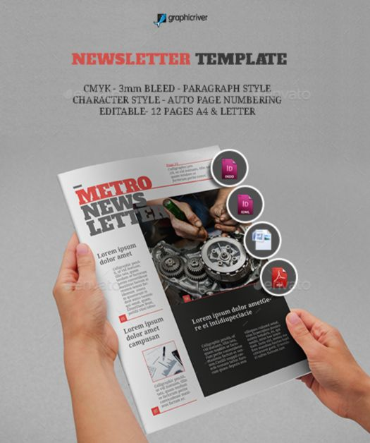 35. Newsletter Template