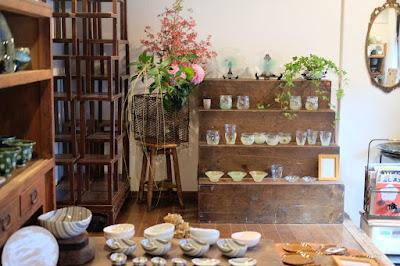 愛知県瀬戸市の器・雑貨 ギャラリーもゆ 内観・インテリア
