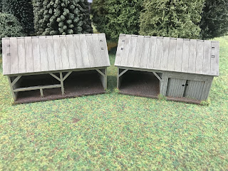 15mm Russian barns