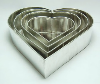 Constructed of aluminium 4 tier heart multilayer wedding cake pans 6 8 10 12 inches