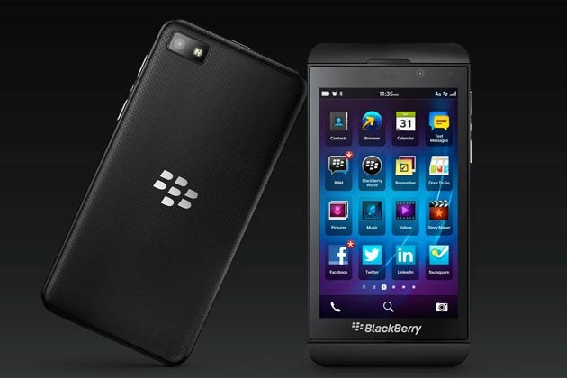 BlackBerry Z10: Specification, Features & Price - BOK face