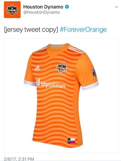 best cheap b15f7 42b8a Houston Dynamo 'Accidentally' Leaks Fake 2017 Home Kit ...