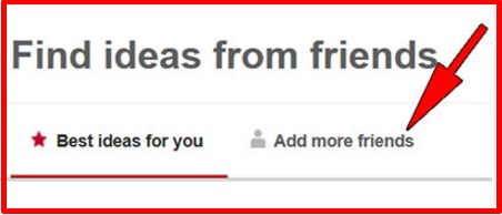 how to find your facebook friends on pinterest