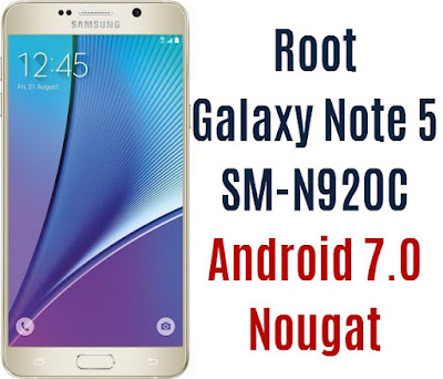 Root Galaxy Note 5 SM-N920C