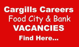 Cargills Careers at Bank & Food City