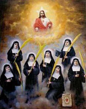 Resultado de imagen para Mártires Salesas