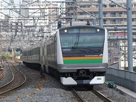 【2019年にも運行か】湘南新宿ライン 特別快速 新宿行き(2018年 渋谷駅高架化工事に伴う運行)