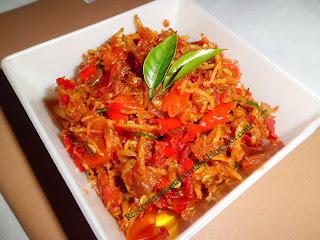 Teri nasi di Indonesia lebih dikenal dengan sebutan Resep Sambal Teri Nasi Medan Bumbu Cabe