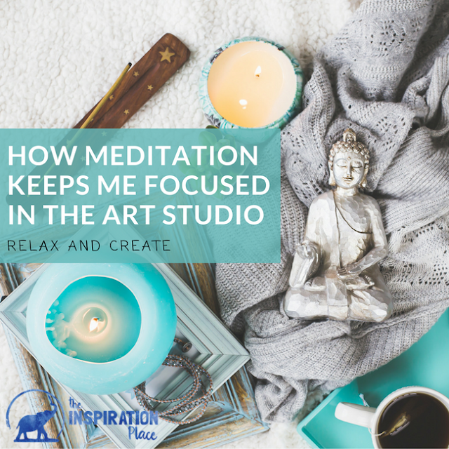 how meditation helps artists focus | smartphone meditation apps | meditation apps | podcasts | meditation podcasts | zen | relaxation | creativity | artist | art business | creative business | productivity | motivation | inspiration | positivity | How Meditation Keeps Me Focused in the Art Studio + FREE printable giveaway of my favorite meditation apps and podcasts for creativity and art → http://schulmanart.blogspot.com/2017/04/how-meditation-keeps-me-focused-in-art.html