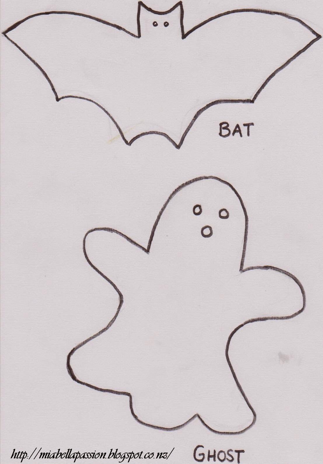 Bat Amp Ghost Cookies