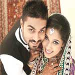 Salman Yusuff Khan with his wife