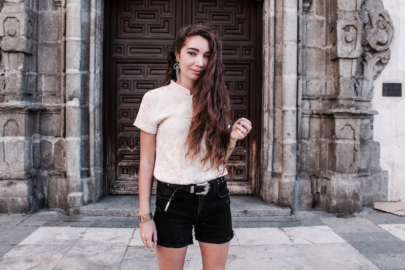 long hair Tumblr 2017 fashion blogger