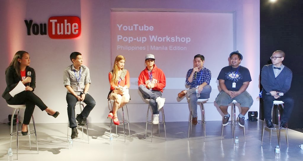 YouTube 1st Pop-up Workshop