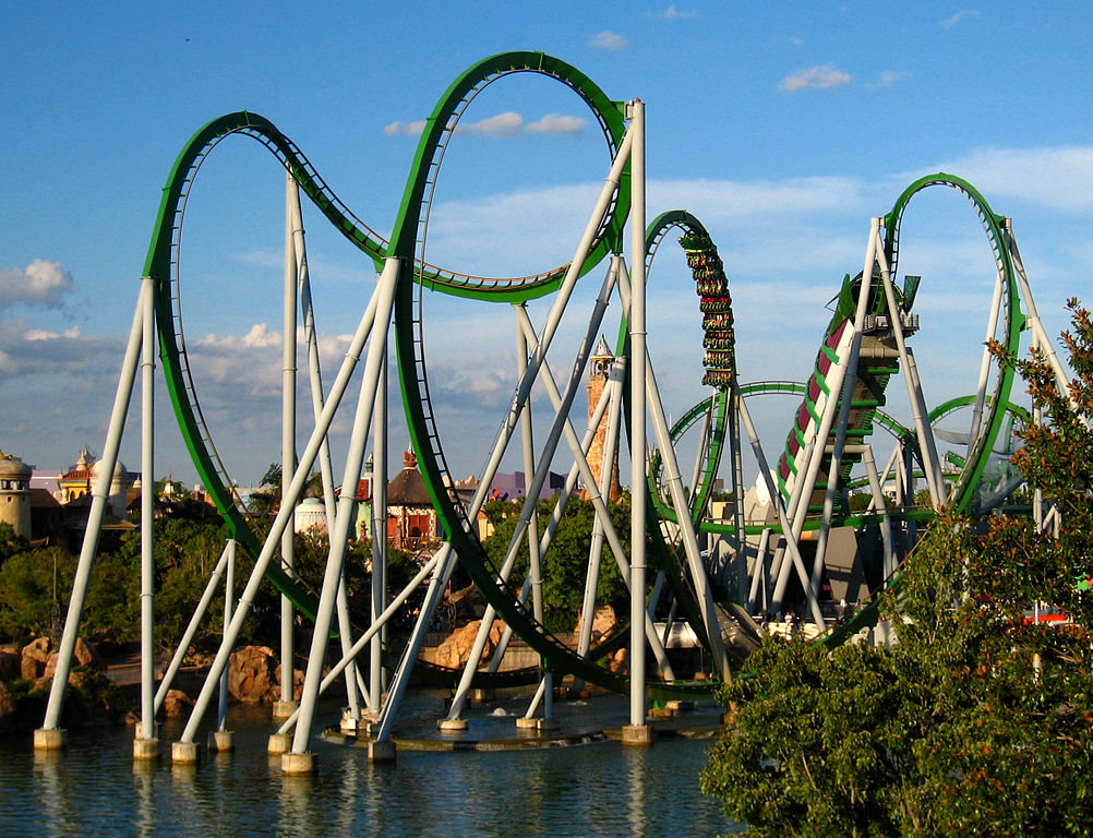 Incredible Hulk Coaster - Universal Orlando Islands of Adventure