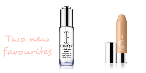 Clinique Smart Treatment Oil and Chubby stick - review