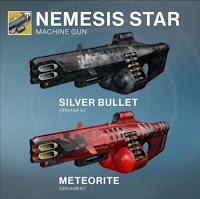 Nemesis Star Ornaments