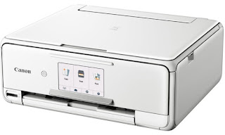 This multifunctional printer handles to a greater extent than than yous may facial expression at commencement facial expression Canon PIXMA TS8151 Drivers Download