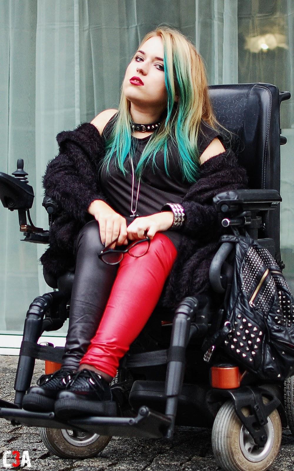 rock style girl