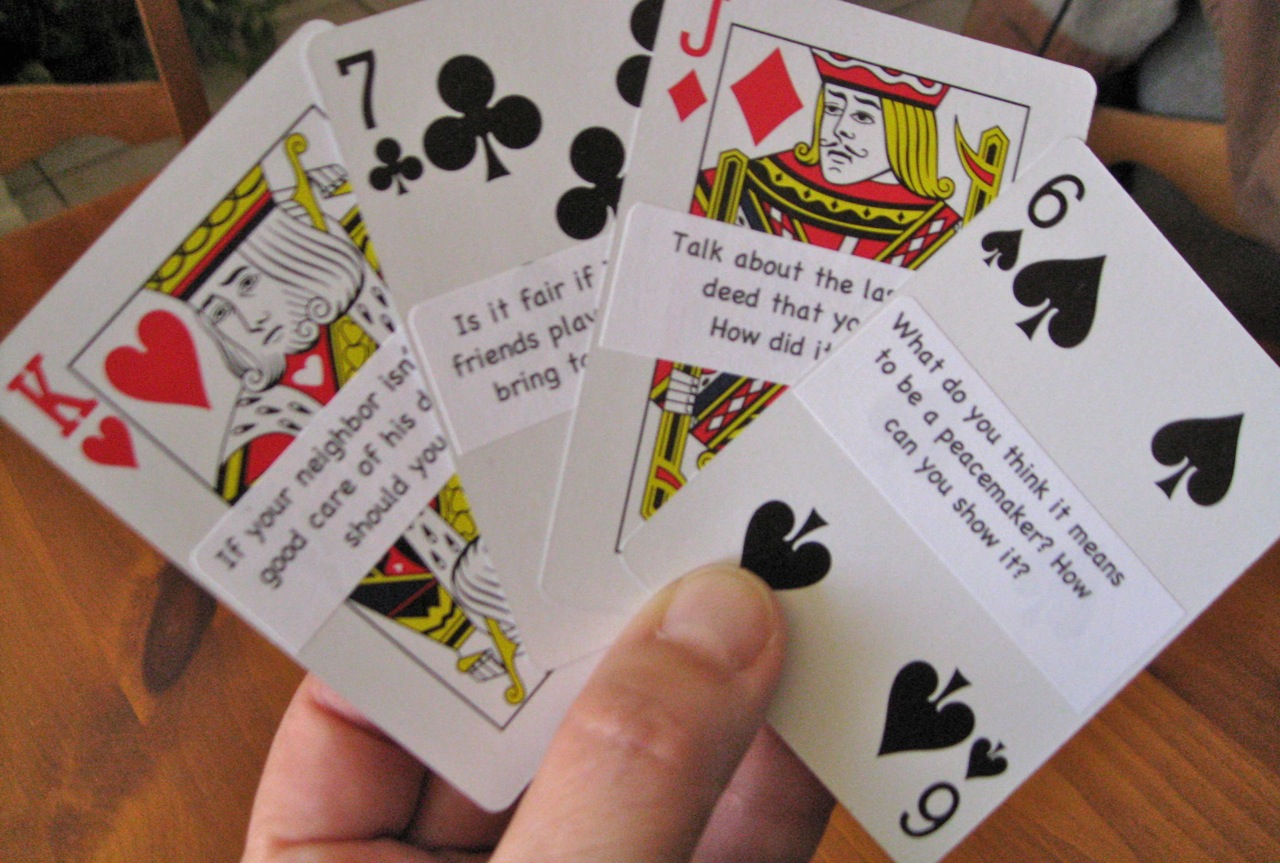 the corner on character character cards character cards