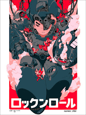 Mega Man Screen Print by Sachin Teng x Mondo