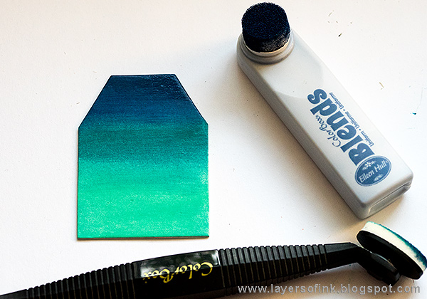 Layers of ink - Ombré Toolbox Tutorial by Anna-Karin with ColorBox Eileen Hull Blends