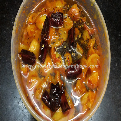 Lemon Pickle Andhra Style how to prepare