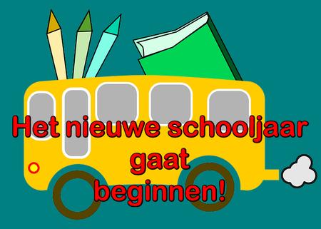 Afbeeldingsresultaat voor start nieuw schooljaar