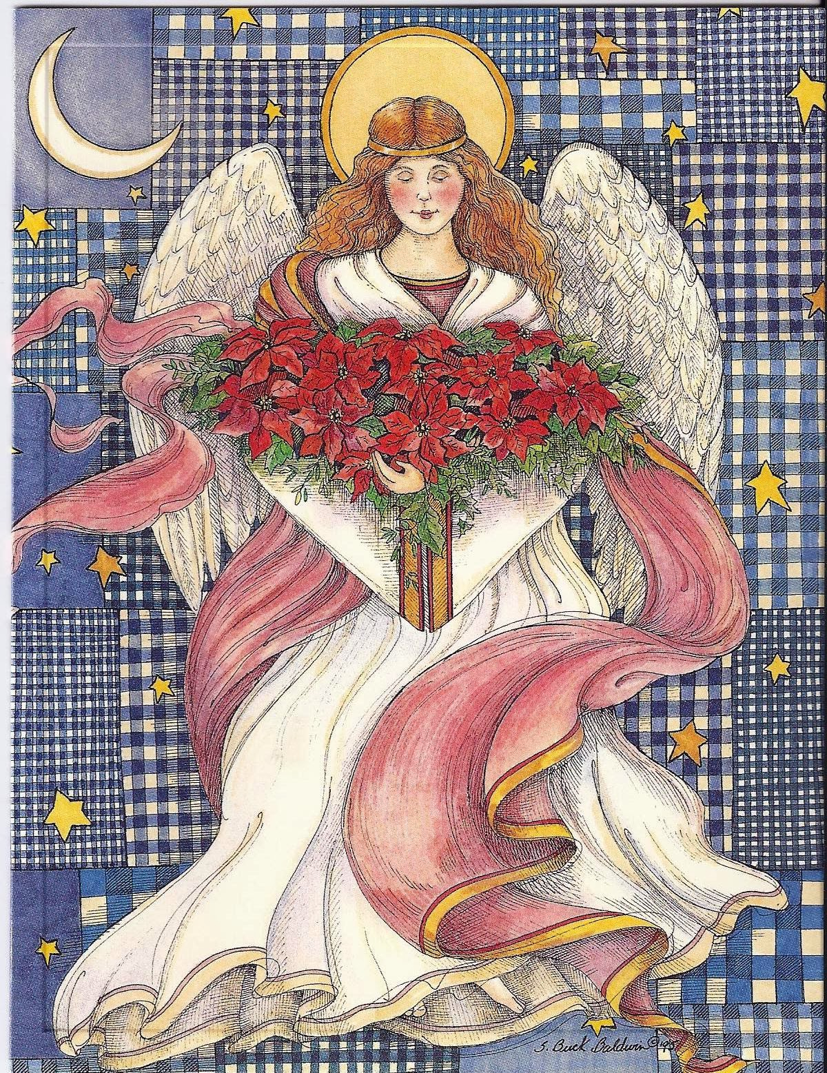 Poinsettia Angel